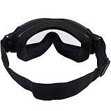 Очки защитные панорамные,очки прозрачные закрытого типа, фото 3