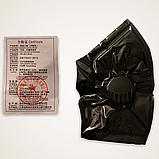 Многоразовая маска Pitta MASK с клапаном выдоха Черная (эластичный полиуретан), фото 2