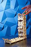 Механический 3D пазл «Модульний Дайс Тауэр» деревянный конструктор UGears, фото 2