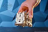 Механический 3D пазл «Модульний Дайс Тауэр» деревянный конструктор UGears, фото 9