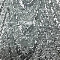 Вертикальные жалюзи ткань Металлик Ампир Серебро