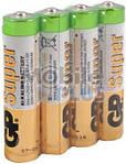 Батарейка AAA (LR3) GP(Super) Alkaline 1.5V