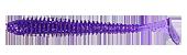 Съедобный силикон Kalipso Frizzle Shad Tail 3 дюйма цвет 205