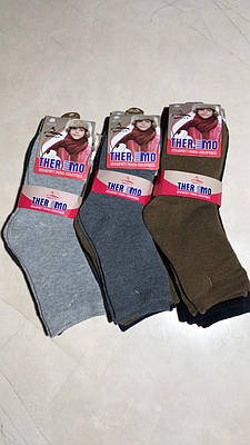 Дитячі шкарпетки теплі TERMO однотонні