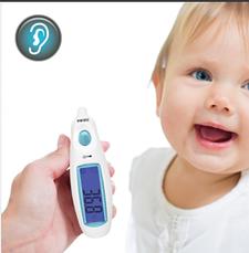 Инфракрасный ушной термометр HoMedics Jumbo Display, фото 3