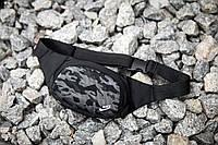 Поясная сумка бананка Nike Web черная, фото 1