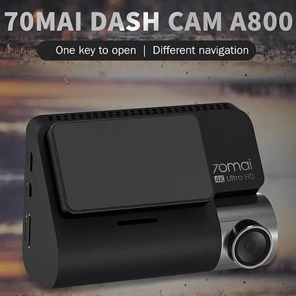Видеорегистратор XIAOMI 70mai A800 4K Smart Dash Cam GPS Русский Глобальная версия!, фото 2