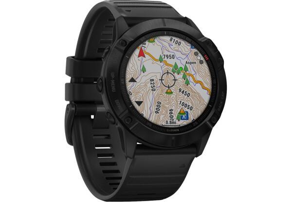 Умные часы Smart Watch Garmin Fenix 6X Pro Black with Black Band (010-02157-01)
