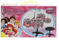 Детская барабанная установка со стульчиком 333-010B Disney Princess, фото 1