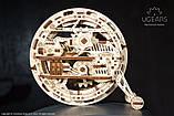 Механический 3D пазл «Моноколесо» деревянный конструктор UGears, фото 2