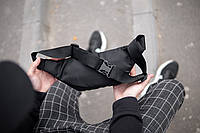 Поясная сумка бананка Nike Shot, фото 1