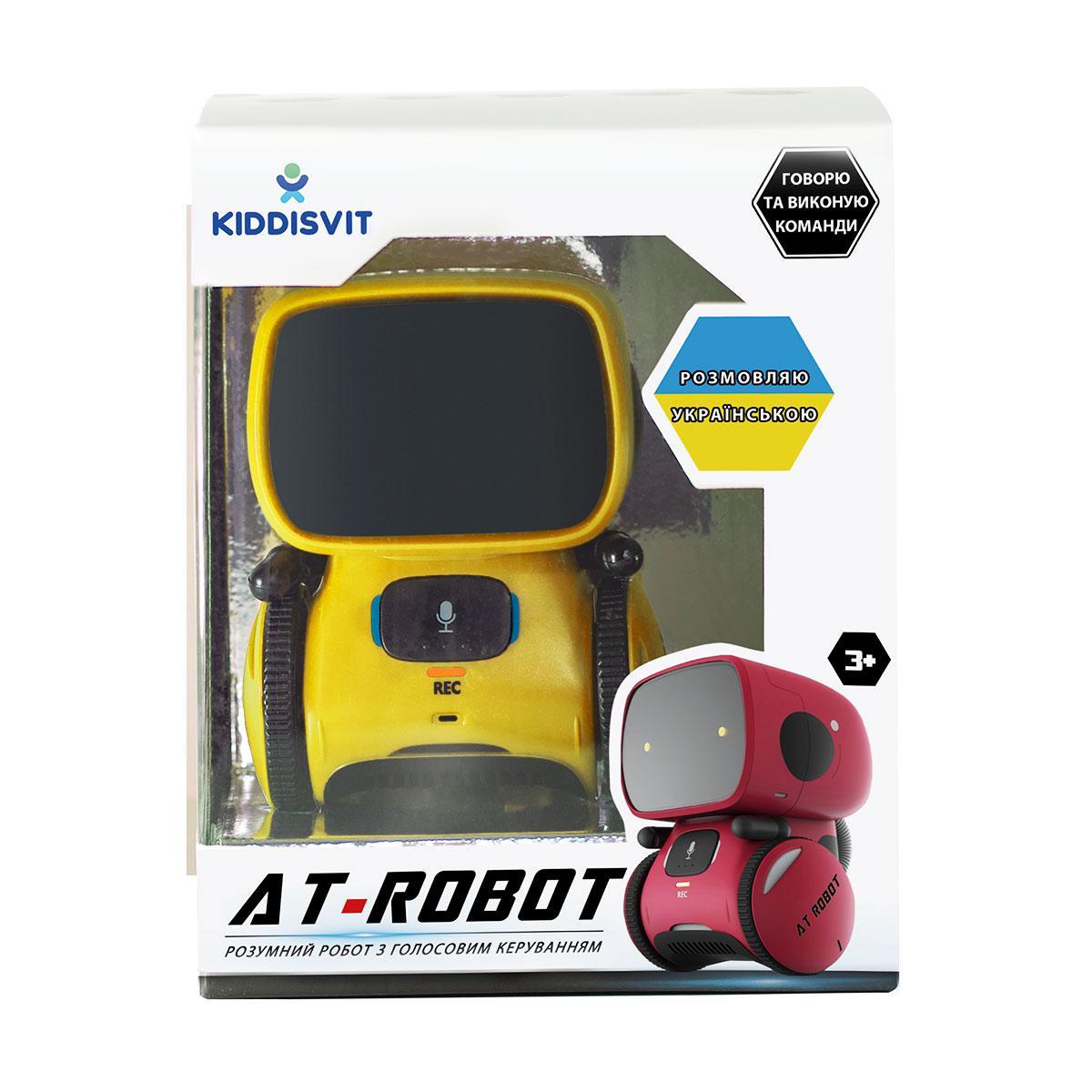Интеракт. робот с голосовым управлением – AT-Rоbot (жёл., укр.) AT001-03-UKR
