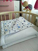 Дитяче ковдру з вшитим утеплювачем 100х80