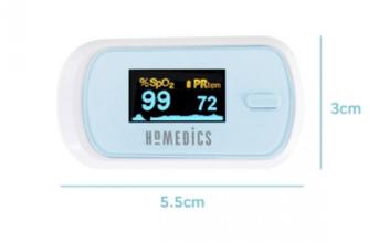 Пульсоксиметр HoMedics Oxywatch Fingertip, фото 2