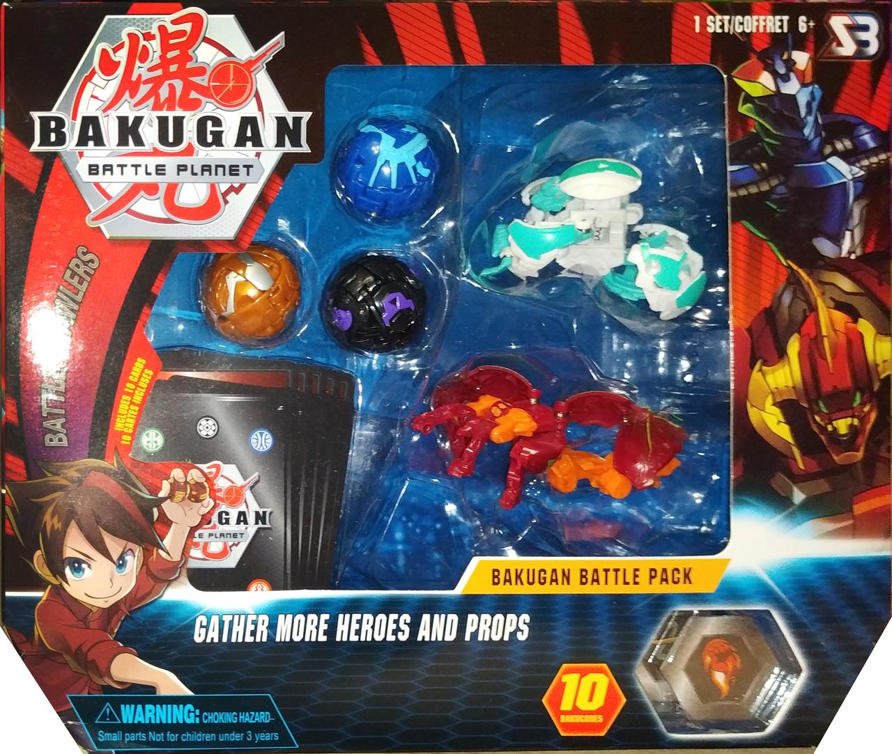 Набор игрушек героев бакуган bakugan 5 штук вид 5