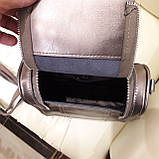 Женский бронзовый рюкзак сумка из натуральной кожи Bronze, фото 9