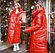 """Женское тёплое пальто-одеяло """"Плащёвка Лаке Завязки"""" в расцветках (ВЯ-33), фото 5"""