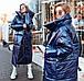 """Женское тёплое пальто-одеяло """"Плащёвка Лаке Завязки"""" в расцветках (ВЯ-33), фото 8"""