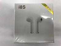 Беспроводные наушники i8s Bluetooth гарнитура(БЕЗ замены брака)