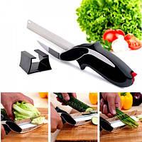 Кухонный нож-ножницы Clever Cutter 2в1
