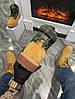 Мужские демисезонные ботинки Timberland Boots 'Military Ginger' (Premium-class) песочные, фото 5