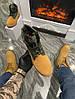 Мужские демисезонные ботинки Timberland Boots 'Military Ginger' (Premium-class) песочные, фото 3