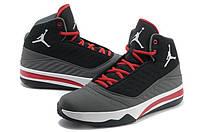 Мужские баскетбольные кроссовки Nike Air Jordan (найк аир джордан) серые