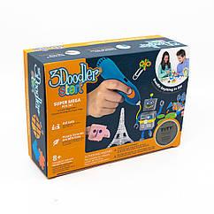 Детская 3D-Ручка 3Doodler Start Для Детского Творчества  - Мегакреатив (192 Стержня, 8 Шаблонов)