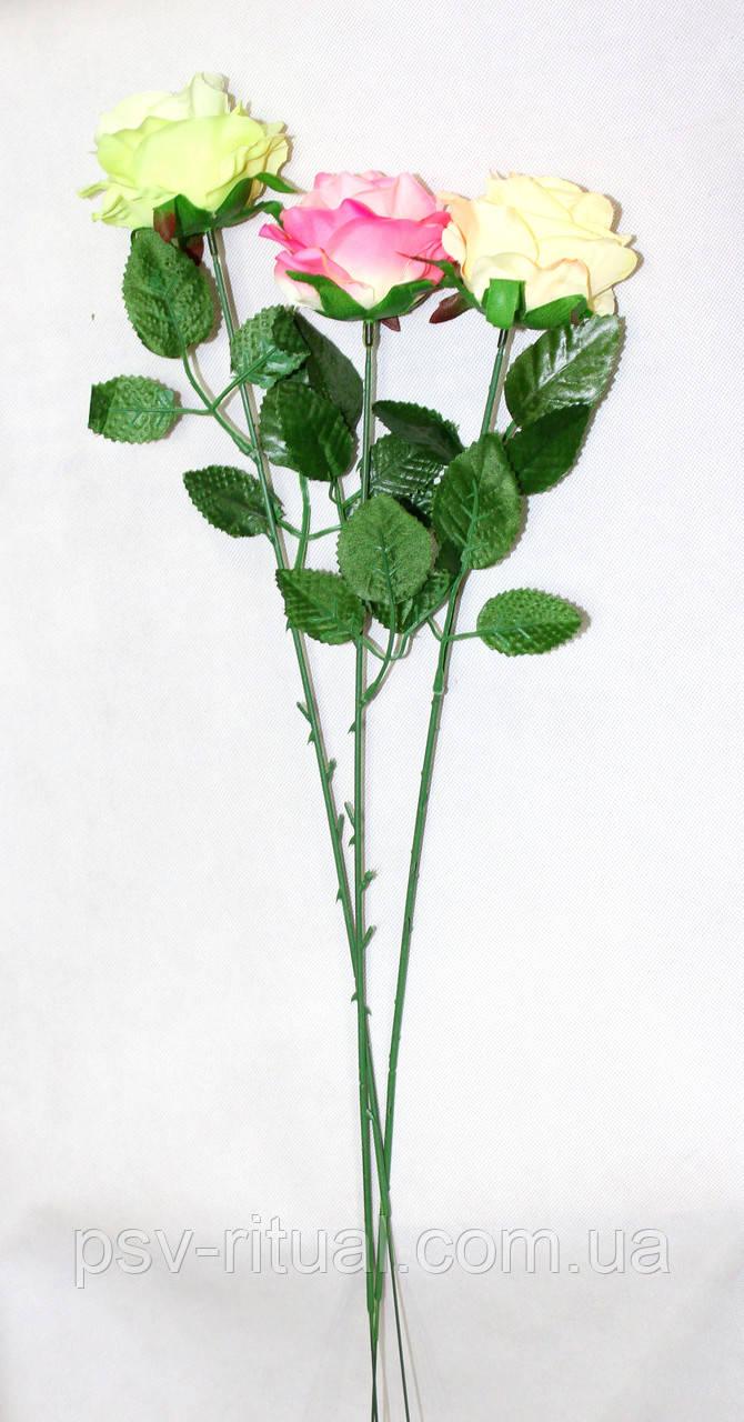 Роза одиночка Декор