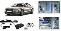 Система кругового обзора для Audi A8 (D4), 2012-2014