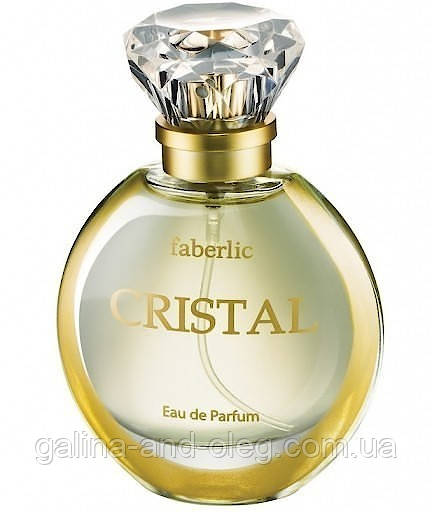 Женский аромат Faberlic Cristal Парфюмерная вода Фаберлик Кристалл
