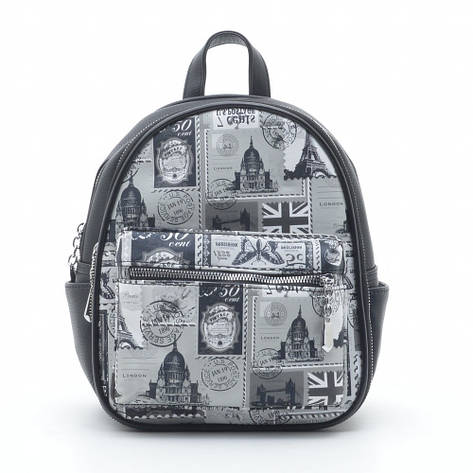 Рюкзак DS-649 черный (марки), фото 2