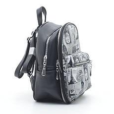 Рюкзак DS-649 black (марки), фото 2