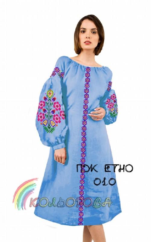 Заготовка жіночого плаття ПЖ-ЕТНО-010