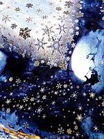 Скатертина для столу новорічна, водовідштовхувальна 145*215, Тиротекс, фото 1