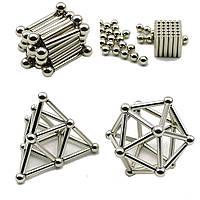 Магнитный конструктор Neo 36 шт. магнитные палочки и 26 шт. стальные шарики
