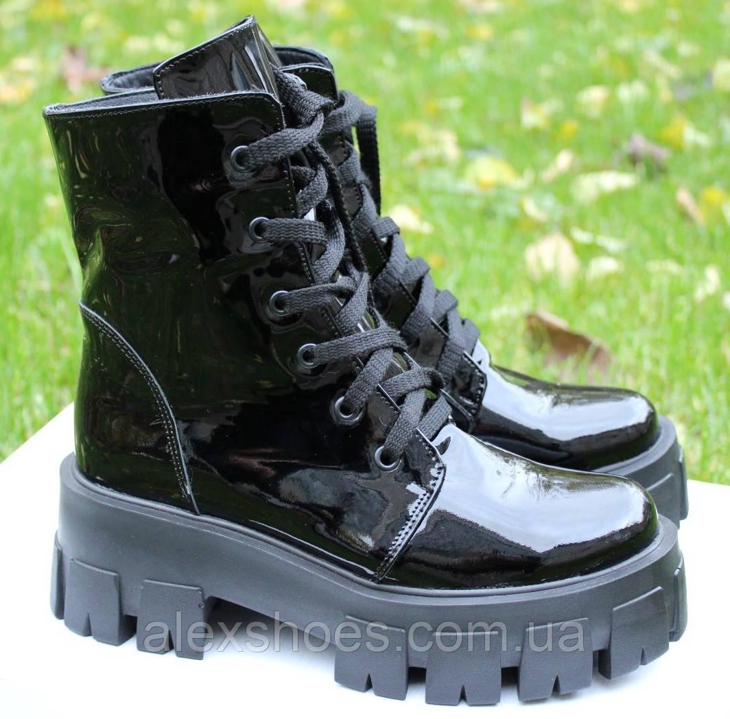 Ботинки женские зимние из натуральной кожи от производителя модель ОУ9284