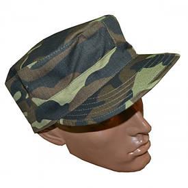 Кепка офицерская камуфляжная Дубок рип-стоп