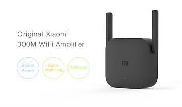 Wi-Fi-роутер Xiaomi с усилителем , расширитель сети 300 мбит/с, 2 антенны, для дома и офиса