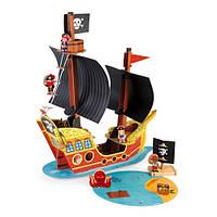 Janod Игровой набор - Корабль пиратов 3D