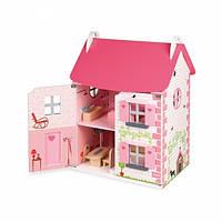 Janod Кукольный домик с мебелью