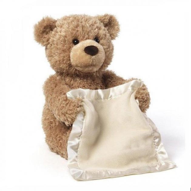 Интерактивная игрушка говорящий Мишка Peekaboo Bear (Пикабу)