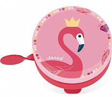 Janod Звонок для велосипеда Фламинго