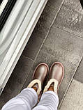 🔥 Угги угг женские зимние Ugg Mini Bailey Bow Ii серебристые розовые замшевые замша кожаные кожа короткие, фото 7
