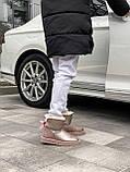 🔥 Угги угг женские зимние Ugg Mini Bailey Bow Ii серебристые розовые замшевые замша кожаные кожа короткие, фото 10