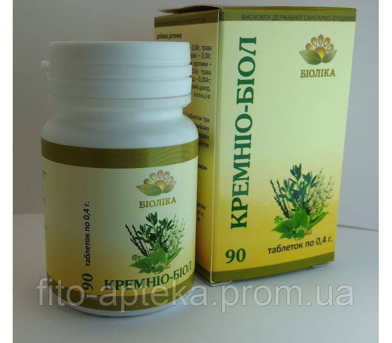 Кремнио-биол (90 шт) для правильного обмена веществ