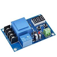 XH-M602 - Універсальний контролер заряду акумуляторних батарей 3.7...120В з індикатором, фото 1