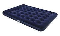 Надувной двухспальный матрас Bestway 67226 (152*203*22 см) со встроенным ножным насосом