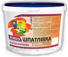 """Шпаклівка по дереву вінілова 1,5 кг """"Bordo"""" Україна"""