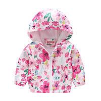 Куртка-ветровка для девочки Весеннее настроение Jomake (90)